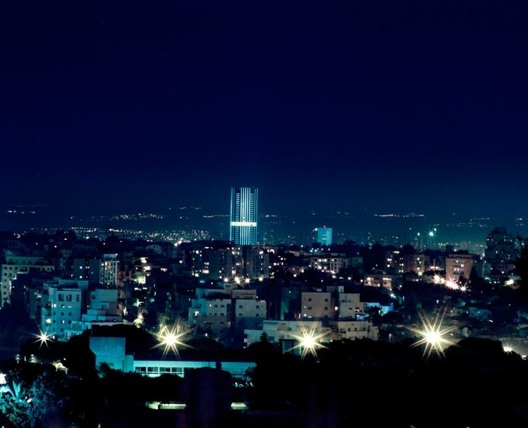 Mamiya RZ67, 120mm Kodak Ektar iso 100. Ramat Aviv overlooking Ramat HaHayal. 2012.